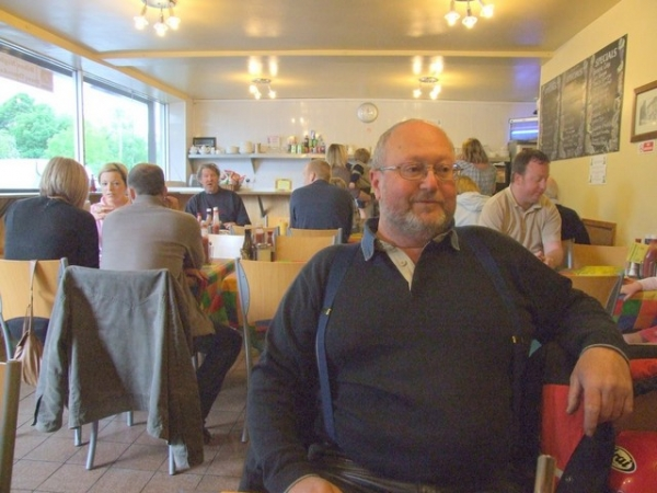 Bob at the Long Itch Diner