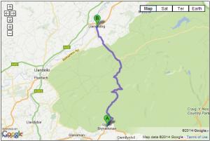 A4069 – Llangadog to Brynamman