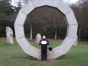 Heavens Gate Sculpture