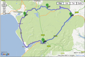 Dolgellau, Bala & Barmouth Loop