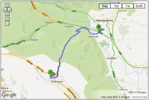 B4246 – Blaenavon to Abergavenny