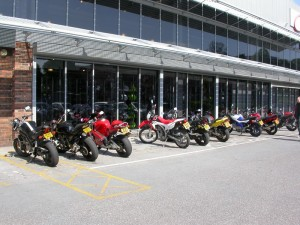 Shobdon Cafe & Fowlers Motorcycles