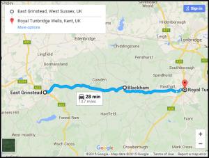 A264 – East Grinstead to Royal Tunbridge Wells