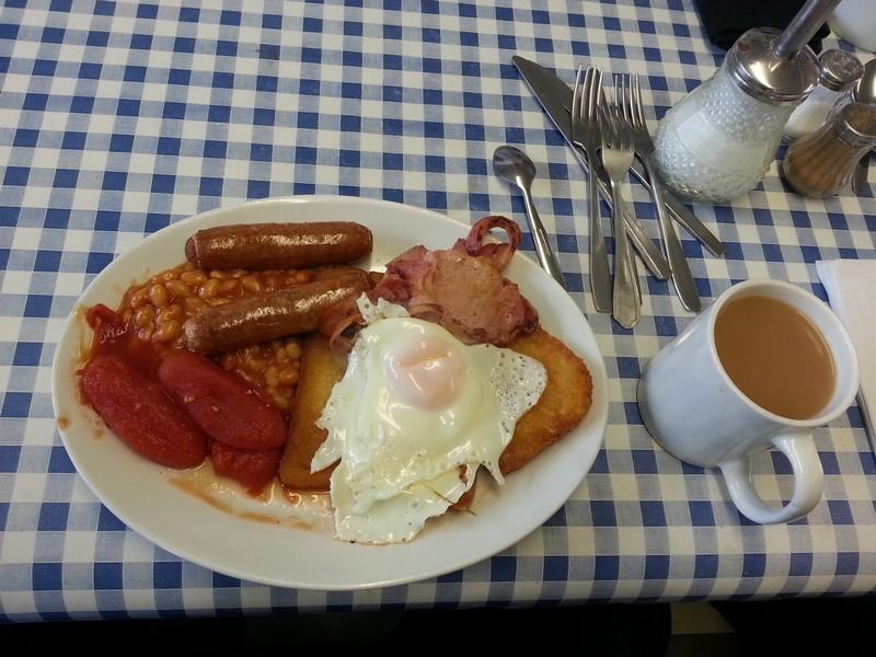 Langrick Station Cafe Breakfast
