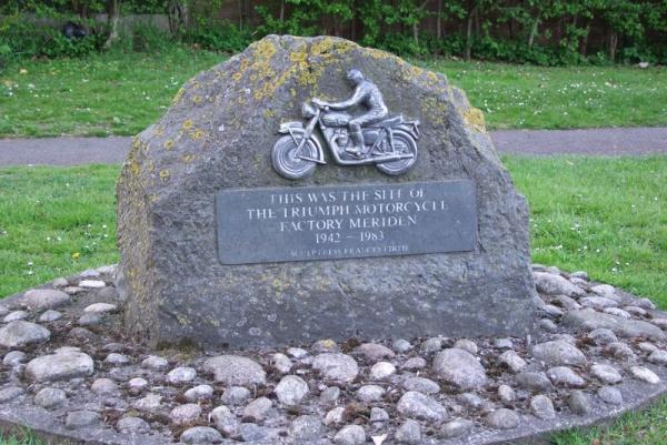 The Triumph Monument in Meriden