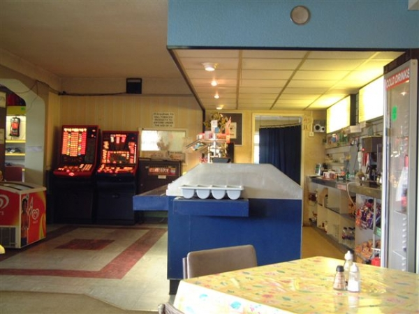 Inside Fromes Hill Cafe