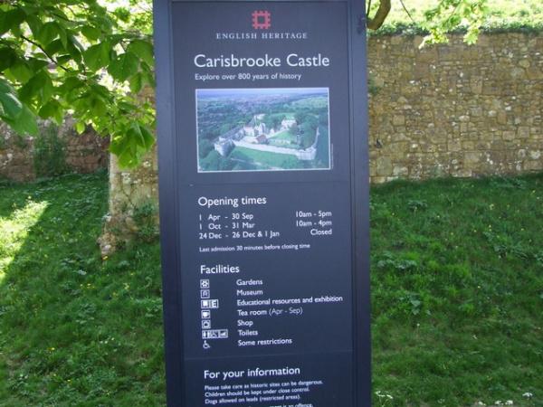 Carisbrooke Castle,