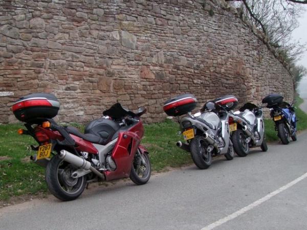 Beeston Castle Wall