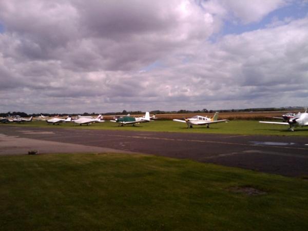 Wellesbourne airfield cafe