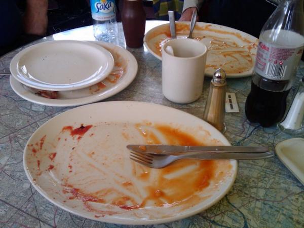 A Wellesbourne airfield cafe full English breakfast GONE!