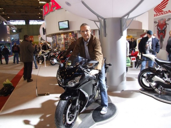 Ray at the NEC Bike Show