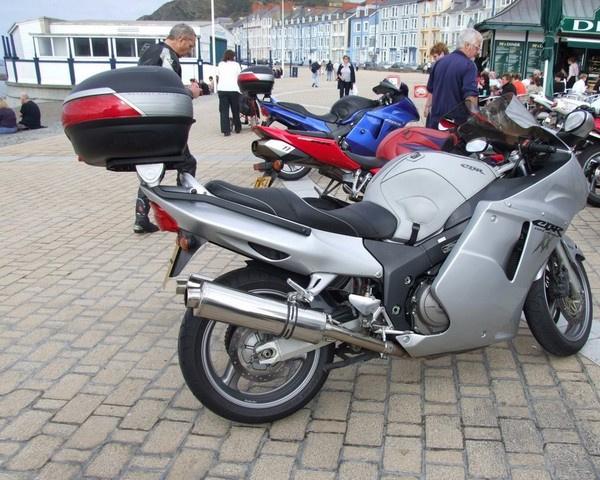 Bonzo's Honda Blackbird in Aberystwyth