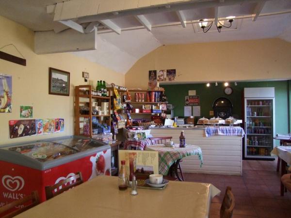 Inside Bringsty Cafe