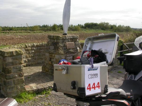 USAF memorial at RAF Goxhill