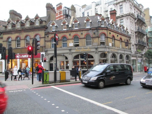 The Albany in Great Portland Street
