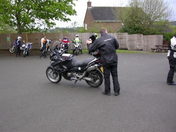 Trevor Fettling his Ride