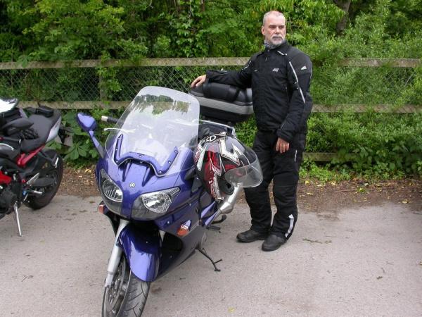 Rig and his Yamaha FJR1300