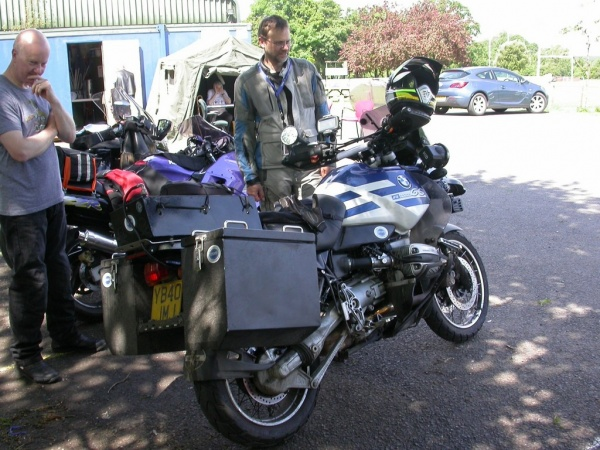 Grim and his BMW