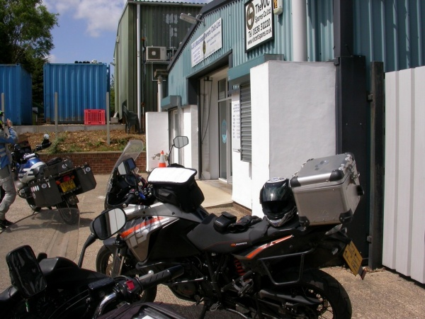 AJS & Matchless Owners Club Check Point