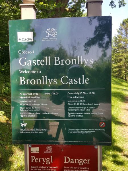 Bronllys Castle