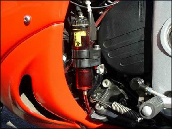 Scottoiler RMV mounted