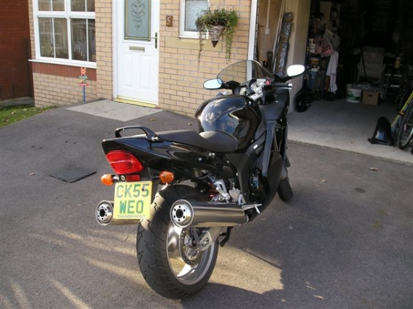 Bonzo's Honda CBR1100xx Super Blackbird