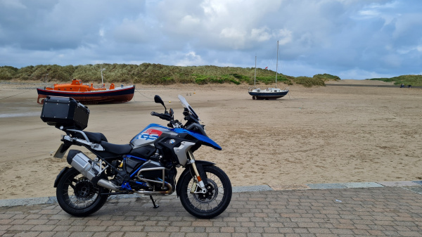 BMW R1200GS Rallye in Barmouth
